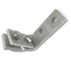 Adsco Cable Messenger Hanger L Bracket Cmh1070 Stainless Steel