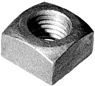 "Heavy 1"" Square Nut"