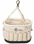 Tripod Oval Bucket with 41 Pockets Klein 5152S