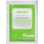 HydraSol® Remover Durable Saturated Wipes POLYWATER HS-1