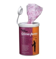 Grime-Away™ Multipurpose Cleaning Wipes CANISTER POLYWATER HTC-D72