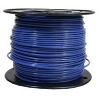 Building Wire 12G THHN SOLID BLUE 500'