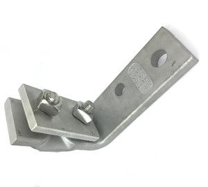 Adsco Cable Messenger Hanger L Bracket CMH1070 STAINLESS STEEL