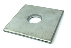"Square Flat Washer 4"" x 4"" x 15/16"" Adsco SW784 STAINLESS STEEL"