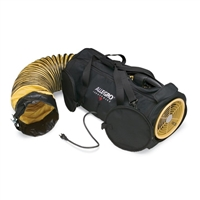 "Allegro 9535-08L AC 120V 8"" Air Bag Blower with 25' Ducting"