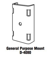"General Purpose Mount 14""  X  5 1/2"" Aluma-Form  D-4080"