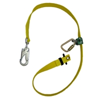 Buckingham 48129W2Y-8 Adjustable Web Lanyard with patented WebGrab