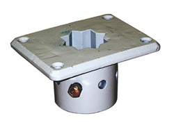 Condux 02260801 Mounting Socket Floor Mount, Cast