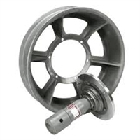 "GMP 70471 Mid-Assist Fiber-Optic Capstan Wheel with Slip Clutch, 32"" X 7.5 #1000"