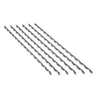 "H-ADS AS 907 Stainless Steel 1/4"" Straight Splice"