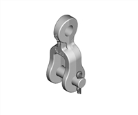 "H-PLP CE-5259 Clevis Eye, 1/2"" Eye Thickness, 15K Strength"