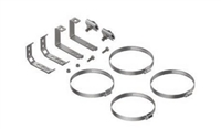 "PLP 8004035 COYOTE® 6.5"" Dome Mounting Brackets Kit"