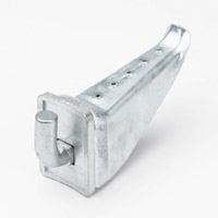POLE STEP SI-0041 HOLLOW STEEL POLE STEP COMPLETE UNIT