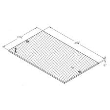 CONCRETE TRAFFIC VAULT Steel Cover H-VAULT-B1017-51JH