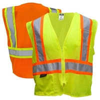 Hi-Way Night Safety Vest Orange XL