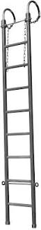 Hubbell H490410 - 10ft Regular Duty Swivel Hook Ladder