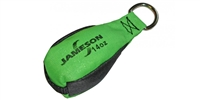 Jameson TB-14 Throw Bags 14oz. Green/Black for Tru Shot Launcher