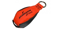 Jameson TB-16 Throw Bags 16oz. Orange/Black for Tru Shot Launcher