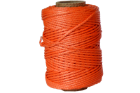 Jameson TL-DY-175180 Throw Line 1.75mm X 180' Dyneema Orange for Tru Shot Line Launcher