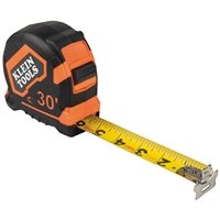 Klein 9230 Tape Measure,30' Magnetic Double Hook