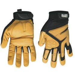 Gloves Journeyman Leather Work Gloves Large Klein 40221