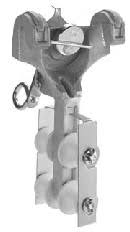 Lemco L-381-4  Multiple Cable Block 4-Way Block w/ Strand Lock