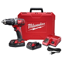 "M18 Compact 1/2"" Hammer Drill/Driver Kit MIL-2607-22CT"