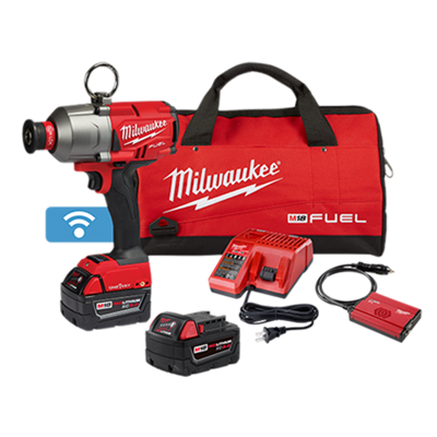 "Milwaukee 2865-22 M18 Fuel 7/16"" Quick-Release Hex Utility High Torque Impact Wrench w/ ONE-KEY Kit"
