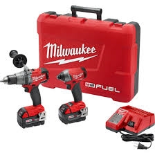 Milwaukee 2997-22 M18 FUEL™ 2-Tool Combo Kit: Hammer Drill/Impact
