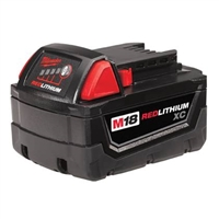 Milwaukee 48111828 M18 RedLithium 18V XC Extended Capacity Battery