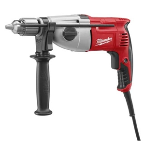 MILWAUKEE 5378-21 1/2 in. Pistol Grip Dual Torque Hammer Drill, 0-1350/0-2500 RPM with Case