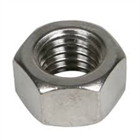 "NEHRWESS STAINLESS STEEL NUT 1/2""."
