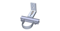 "Conduit Stand Off 4.5 - 6"" Adjustable Bracket With H- Channel"