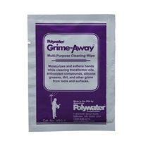 Grime-Away™ Multipurpose Cleaning Individual premoistened Wipes POLYWATER HTC-1