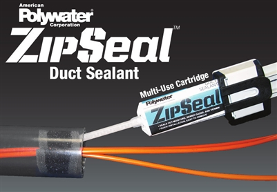 Zipseal Duct Sealant W Tool Polywater Zip 50kit1g