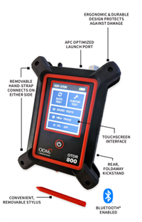 ODM® Optical Time Domain Reflectometer with Bluetooth® Ripley OTDR 800