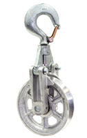 Sherman Reilly  9511-PG Block & Swivel Safety Hook 6""