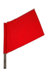 Traffic Warning Flag Signup 24WS