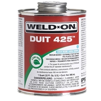 PVC Cement 1 Gallon Blue 12091 Weld-On Duit 425